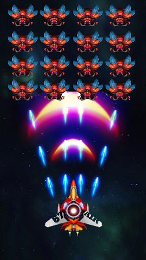 Galaxy Infinity: Alien Shooter APK MOD – Pièces de Monnaie Illimitées (Astuce) screenshots hack proof 1