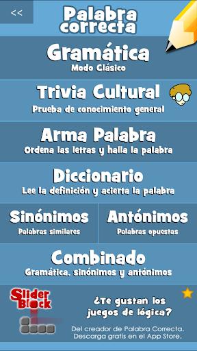 Palabra Correcta 1.4.11 Screenshots 3