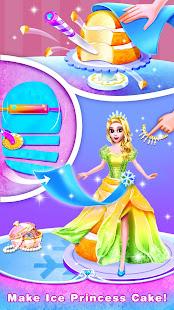 Ice Princess Comfy Cake -Baking Salon for Girls 2.1 screenshots 2