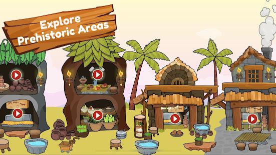 My Dinosaur Town - Jurassic Caveman Games for Kids 3.3 Screenshots 18