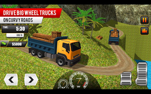 Offroad Truck Driving Simulator: Free Truck Games Apkfinish screenshots 3