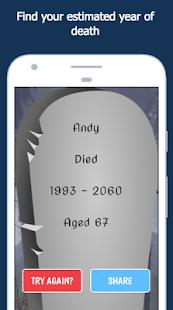 When Will I Die:  Death Countdown Calculator Prank