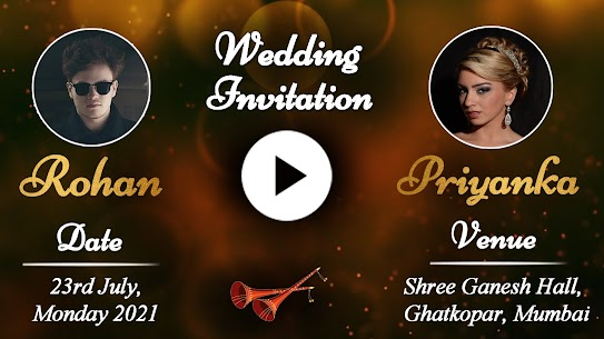 Wedding Invitation Video Maker For Pc – Run on Your Windows Computer and Mac. 1