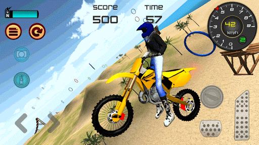Motocross Beach Jumping 3D apkdebit screenshots 2