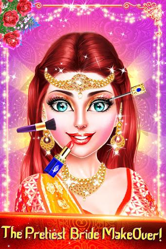 Traditional Wedding Salon - Makeup & Dress up Game Apkfinish screenshots 22