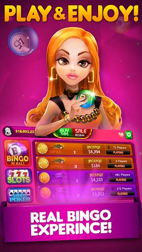 Bingo 90 Live: Vegas Slots & Free Bingo apkdebit screenshots 1