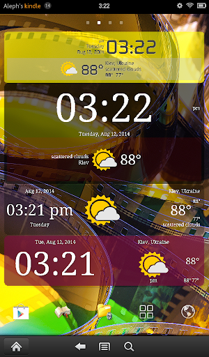 Weather ACE Clock Widget Pack For PC Windows (7, 8, 10, 10X) & Mac Computer Image Number- 13