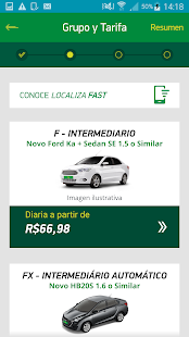 Localiza Hertz - Rent a car Screenshot