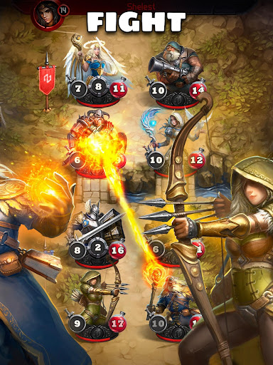 Card Heroes - CCG game with online arena and RPG modavailable screenshots 17