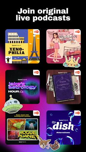 Spoon: Social Audio - Live Stream, Chat, Listen screenshots 4