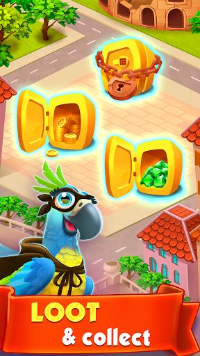 Spin Voyage: raid coins, build and master attack!  screenshots 17