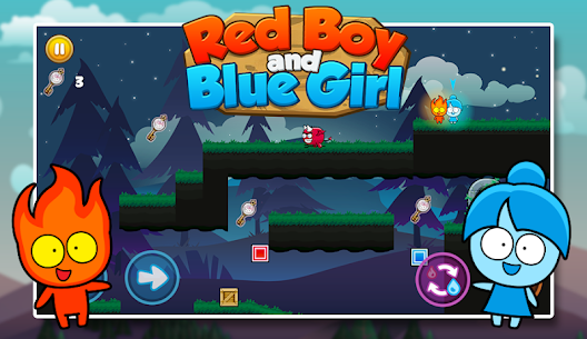 Red boy and Blue girl – Forest Temple Maze 2.19 Mod APK (Unlimited) 2