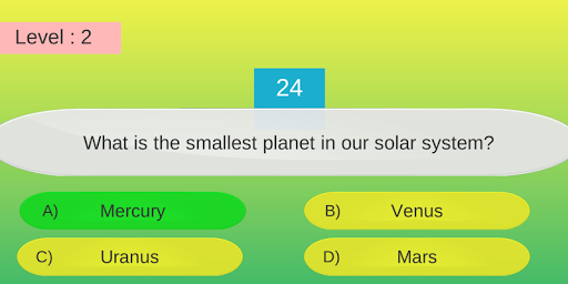 quizz - general knowledge quiz game screenshot 2
