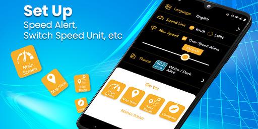 Digital Speedometer - GPS Offline odometer HUD Pro 3.5.7 Screenshots 7