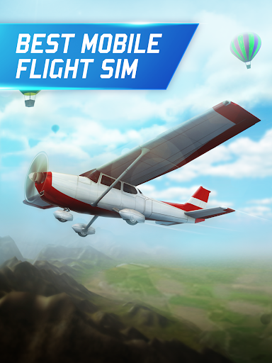 Flight Pilot Simulator 3D Free android2mod screenshots 2