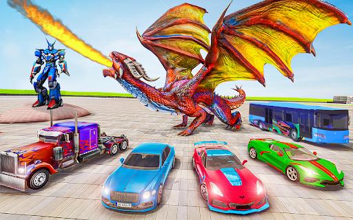 Robot Car Transformation: 3D Transformation Games 1.1.12 screenshots 2