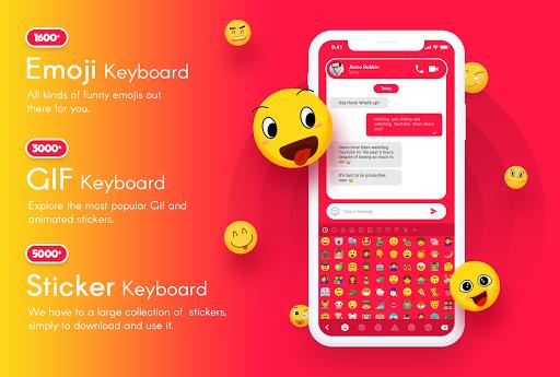 My Photo Keyboard - Picture keypad with Emoji, Led 5.7 Screenshots 4