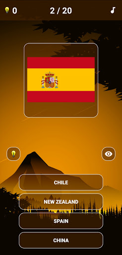 Country Flags and Capital Cities Quiz 1.0.30 screenshots 1