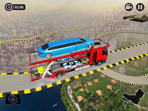 Vehicle Transporter Trailer Truck Game  screenshots 14