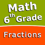 Fractions and mixed numbers - 6th grade math