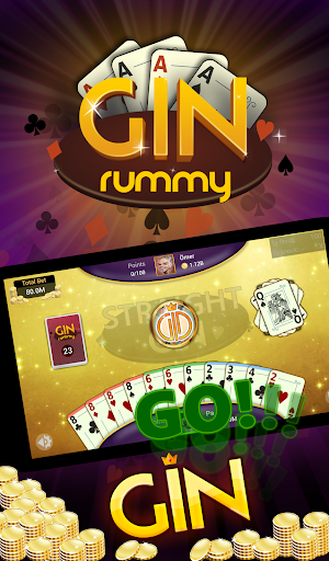 Gin Rummy - Offline Free Card Games apkpoly screenshots 10