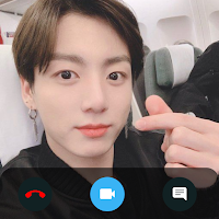Jungkook Call You - Fake Video Voice Call with BTS