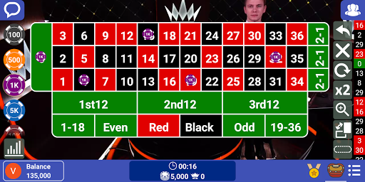 Live Casino: Play Roulette, Baccarat, Blackjack 21 screenshots 2