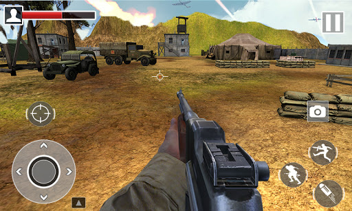 World War 2 FPS Shooting Gamesu2013 WW2 Battle Combat 1.0.1 screenshots 2