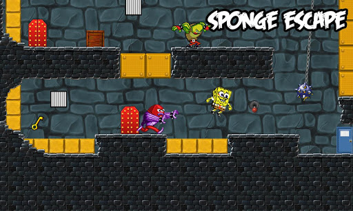 escape sponge prison screenshot 2