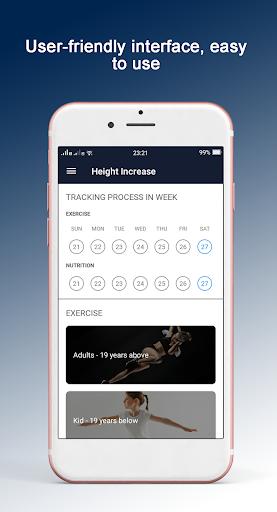 height increase - height increase exercise screenshot 2