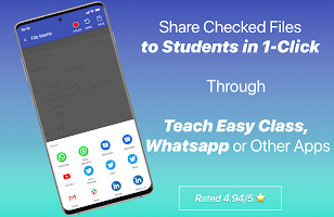 Teach Easy: Easiest Exam & Assignment Checking App