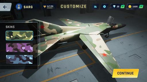 Sky Warriors: Airplane Combat  screenshots 18