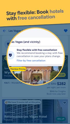 Expedia Hotel, Flight & Car Rental Travel Deals screenshots 1