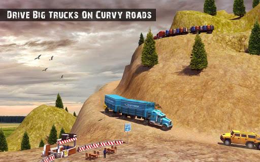 USA Truck Driving School: Off-road Transport Games  screenshots 18