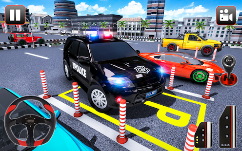 Police Parking Adventure Car Games 2021 3D 1.3 Screenshots 4