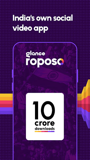 Roposo: Indian Short Video App. Viral Funny Videos  Screenshots 1