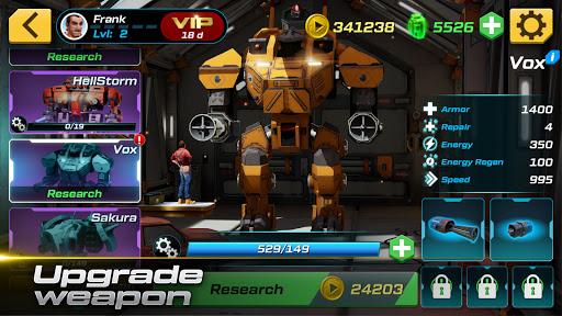 Mech vs Aliens: Top down shooter   RPG  screenshots 4
