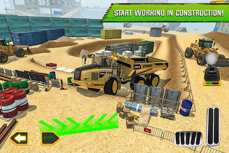 Construction Site Truck Driver 1.3 screenshots 1