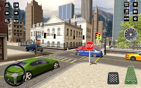 3D Driving School Simulator: City Driving Games 1.6 Screenshots 2