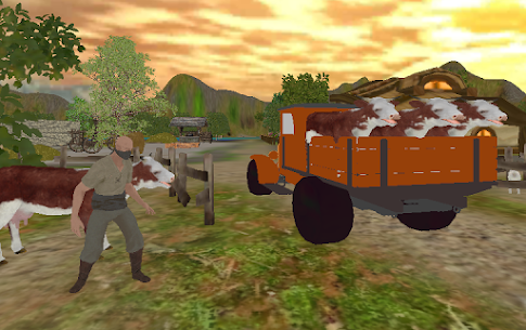 Free Farm Village Tractor Transport Farming Simulation 5