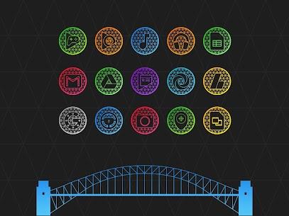 Pixel Net – Neon Icon Pack 2.1 Apk 3