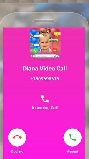 Kids Diana Fake Video Call - Prank Chat Call Video