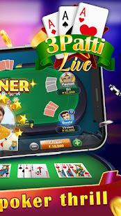Teen Patti Live - fun card game Online 1.1.0 screenshots 2
