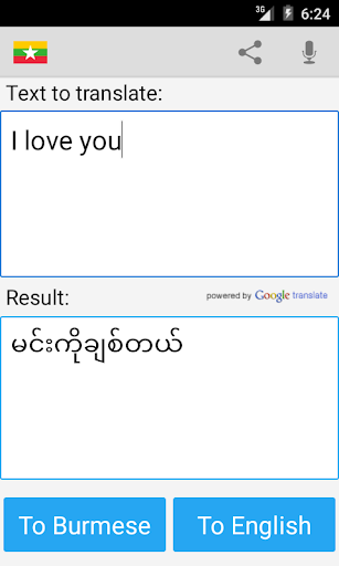 Burmese English Translator 20.9 Screenshots 3