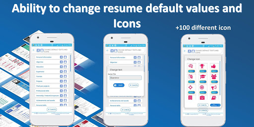Resume builder Pro  - CV maker Pro Multi-Language 4.6 Screenshots 6