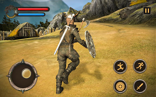 Télécharger Viking Last Battle: un guerrier Norseman combat un APK MOD (Astuce) screenshots 2