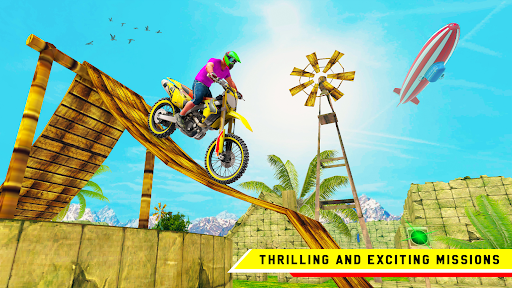 Stunt Bike 3D Race - Bike Racing Games apkpoly screenshots 9