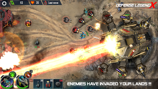 Defense Legend X: Sci-Fi Tower defense APK MOD Download 1
