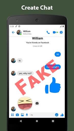 Fake Chat Conversation - prank 7.31 Screenshots 13