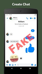 Fake Chat Conversation - prank Screenshot